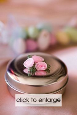 Silver Candle Tin