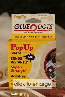 Pop Up Glue Dots pk 75